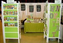 Craft Show Display ideas / Great photos of displays at craft shows.