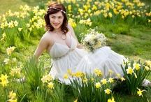 Spring Wedding Style Inspiration Board / British spring wedding inspiration, daffodils, blossom, rain... wedding inspiration from Surrey wedding venue Nonsuch Mansion