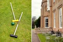 Summer Wedding Inspiration / Icecream, croquet, outdoor photographs, summer fete... wedding inspiration from Surrey wedding venue Nonsuch Mansion