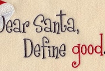 Dear Santa ~ Define Good / by HopSchipJump