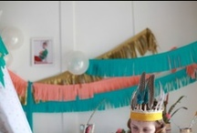 Birthday Stuff / themes from the boys' parties Pow Wow Gone Fishin' Pancakes & Pajamas / by Gabrielle @ Oh Boy, Cato!