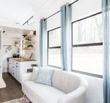 """Chic Glam-V / We ditched our digs in Downtown Seattle, sold (almost) everything and bought an RV which we are now renovating! Here is our inspiration for what we are calling our """"Glam-V"""""""