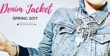 How to Layer for Spring 2018: Denim Jacket / 100s of ways to style a classic denim jacket. A great denim jacket is a capsule wardrobe and layering staple and it's the one layering basic you need to create cute Spring 2018 outfits in every style archetype.