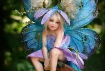 Fairies & their Houses / Fairy Figures, Homes, Paintings  / by Connie Hewitt