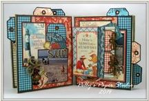 Craft: Mini Albums / Mini albums of all kinds &/or sizes / by Connie Hewitt