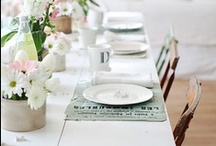 Table settings / by Alida Ryder | Simply Delicious