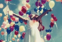 Baloons, Umbrellas & Colors / by *・゜*IndieTravel*゜・*
