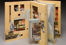 Craft: Altered Books & Bindings / Re-designing books, making new book and covers, altering and 3-D dimension books. Learning the different binding ways and materials. / by Lennie Barnes