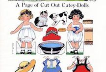 Craft: Paper Dolls / Paper Dolls from All Generations / by Connie Hewitt