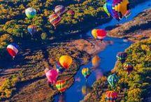 hot air balloons / by Gloria Akin
