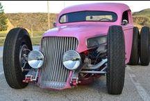 les rats, les muscles et chariot de plomb /  Coolest Car and bikes