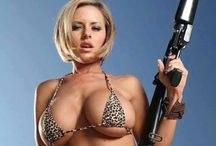 My new head of security / Women with weapons #sexy #weapons #guns #women #girls