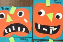 Pumpkin Theme and Ideas / Pumpkin thematic fun for kindergarten math, reading, social studies, art, music, writing, and science.