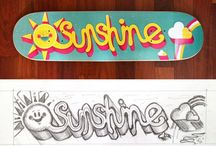 awesome skateboards. / I love to skateboard it is so cool to feel the cold breeze in ur face when u are going fast~Ange / by Angelina Jaqueline