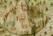Medieval maps and schemes
