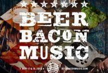 BEER/BACON/MUSIC: originals / Beer Bacon Music festival. Original #design #illustration #photography #quotes