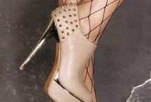 High Heels With Spikes / Spiked heels are super edgy and take a lot of confidence to wear.