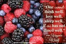 Healthy Diet and Lifestyle / by Mary O brien