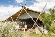 Camping / Kleine campings, familie campings en minicampings met safaritenten, lodgetenten, lodgesuites, tipi's en yurts vind je op www.luxetent.nl
