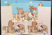 Sanrio Letter set - Wanted / Papeles que me gustaría conseguir o comprar