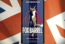 Fox Barrel Cider / America's first, truly pure pear-juice based cider line, Fox Barrel makes Pear Ciders that are naturally fermented using 100% pear juice, not from pear juice concentrate, or flavored hard apple cider.