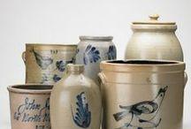 """salt/tin glazed """"grey"""" stoneware / blauw en grijs keramiek / by mary kleijwegt"""