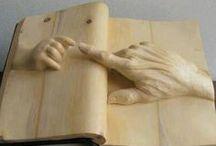 wood art / houten kunst / by mary kleijwegt