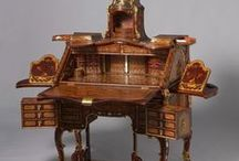 antique desks / bureau's / by mary kleijwegt