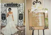 Celebration Mirrors by Chalk Shop / Custom designed mirror boards for weddings and events by Chalk Shop Events in Orlando, Florida