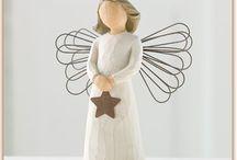 Willow tree-Susan Lordi angels / Szegény angyal vagyok.  Naponta élem meg a pillanatnyi mát.
