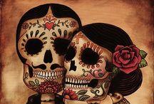 Skulls and spooky
