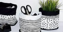 Homeware | House decoration / Item for house decoration, Interior design, Scandinavian design, Black and White design