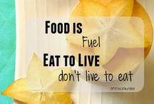 FOOD TIPS / Kara Larkin's Food Tips    Clean Eating List, Simple Changes, etc.