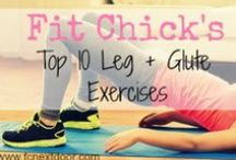 LOWERBODY WORKOUTS / Kara Larkin Fitness    Legs, Glutes, Calves, etc.