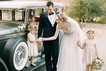 WEDDING GLAMOUR / GLAMOROUS WEDDING STYLE. BEAUTIFUL BRIDE AND GROOM. ROMANCE.