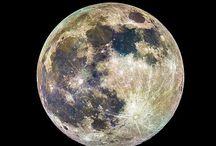 moon / お月さま,ママ