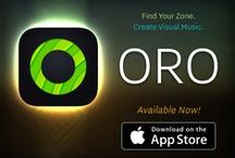 ORO Visual Music / This free iOS app is a great way for anyone to create music! Free download in iTunes App Store: apple.co/1WbHTEO
