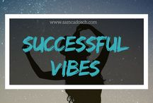 "Successful vibes / Success is something we maybe all want. But I think ""success"" is a misunderstood word. For me it's not the thing you need to work hard for. It's what you receive when you just follow your passion. <3"