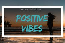 Positive Vibes / Positivity is a powerful thing. And we all have the opportunity to choose a positive life. <3