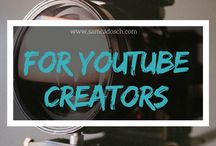YouTube Marketing / In dieser Pinnwand sammle ich alles, was für YouTube Creators nützlich sein kann. :) | All for YouTube Creators