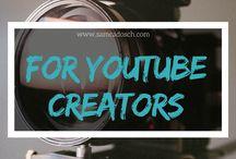 YouTube Marketing / In dieser Pinnwand sammle ich alles, was für YouTube Creators nützlich sein kann. :) | All for YouTube Creators