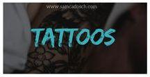 """Tattoos. / Tattoos sind mehr als nur """"Farbe unter der Haut"""". Sie sind Kunst für mich. Und Lebensbegleiter."""