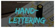 Handlettering / All about handlettering/lettering by hand. Welcome, creative minds! <3