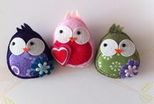 Decorative & Crafty Birds / by Deborah Scott