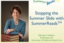 Summer Reading / Students who don't read much over the summer show a decline in reading performance from the end of one grade to the start of the next. Here are some TextProject resources that can help stop the summer slump.