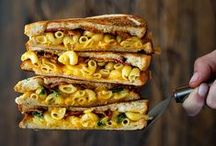 Grilled Cheese Sandwiches / Grilled Cheese for president.