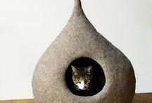 Интерьер - Коты
