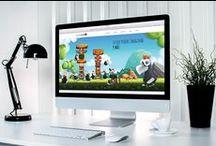 Diseño web / En Surfinbird afrontamos el diseño web a partir de varios principios básicos: creatividad, máxima fuerza de la home, navegación fluida, sencillez y limpieza.