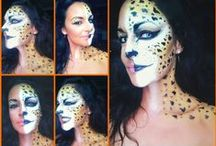 Halloween Make Up & Carneval Make Up ideas / Halloween makeup, Carneval, Fantasy makeup, Theatrical makeup, Special effects makeup (FX makeup), Airbrushing, BodyPainting,  creative trend vogue amazing nice like love wonderfull beautiful cool tendency brilliant ideas art impressive