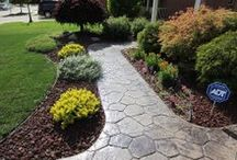 Concrete Projects / Our Master Craftsmen Can Handle Any Project: Concrete Driveway Installation & Repair, Concrete Patios & Decks, Concrete Repair & Resurfacing, Stamped Concrete, Aggregate Concrete, Concrete Foundation Services, Custom Concrete Projects